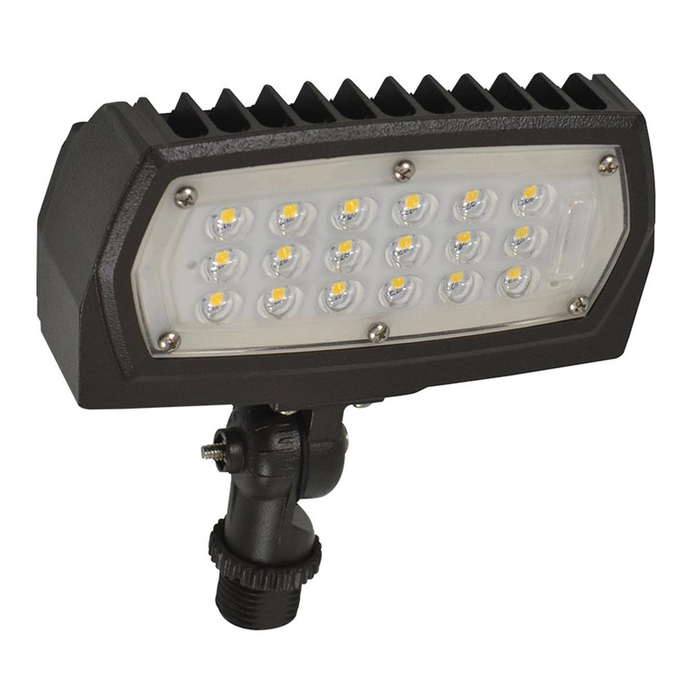 120v Led Landscape Lights: Halco Lighting Technologies ProLED 12-Watt Bronze Outdoor