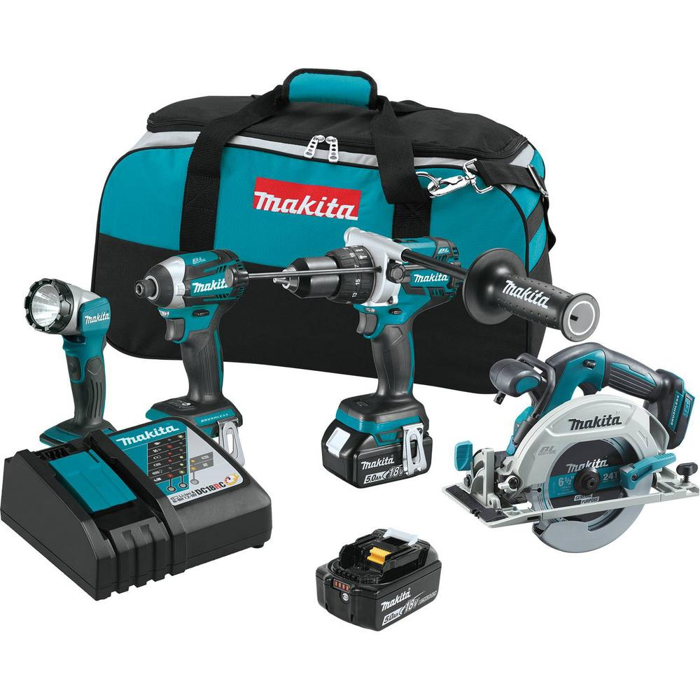 makita 18 volt 5 0ah lxt lithium ion brushless cordless. Black Bedroom Furniture Sets. Home Design Ideas