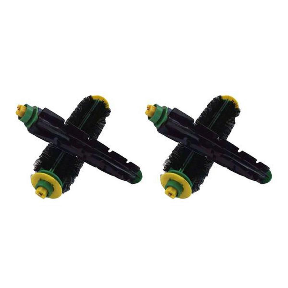 Think Crucial Bristle and Beater Brushes Replacement for iRobot Roomba,  Compatible with Part 81701 and 82301 (4-Pack)