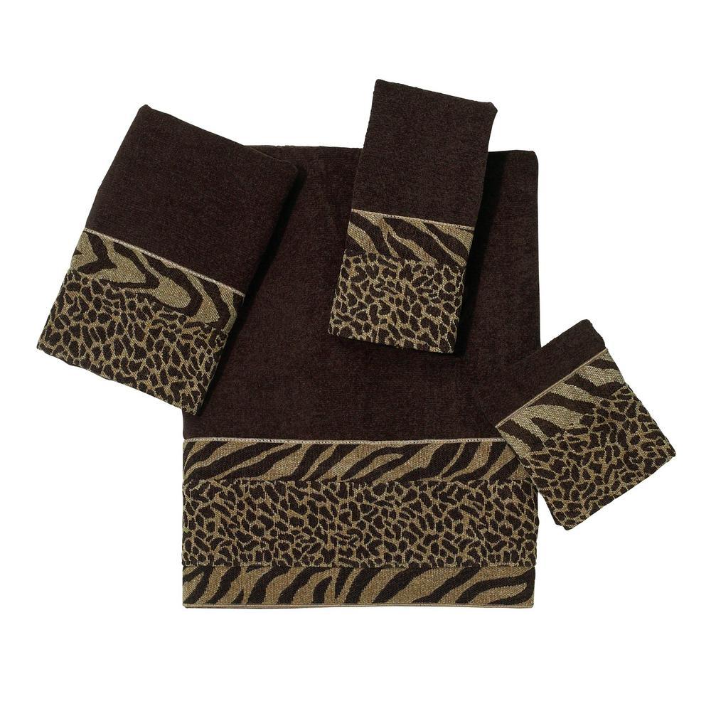 Cheshire 4-Piece Bath Towel Set in Java