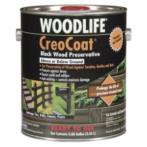 Wolman Woodlife 88 Gal Creocoat Black Water Based Exterior Wood Preservative 4 Pack 14436a