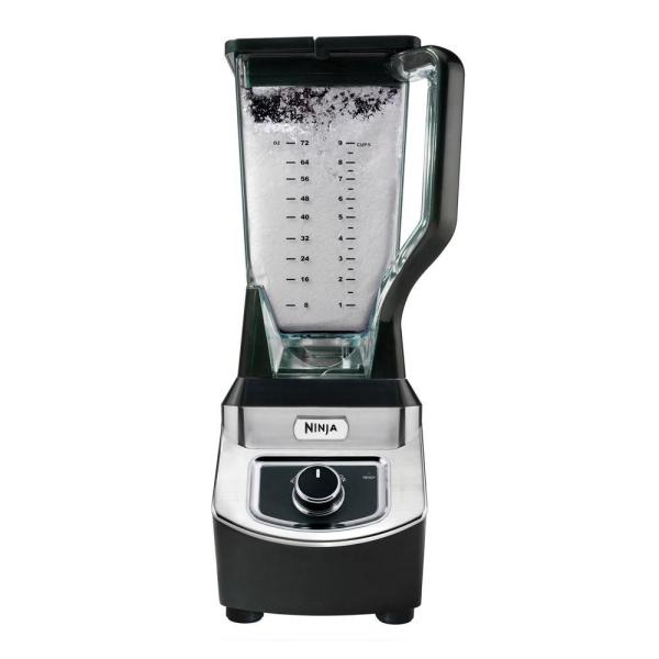 Professional 72 oz. Single Speed Black Blender