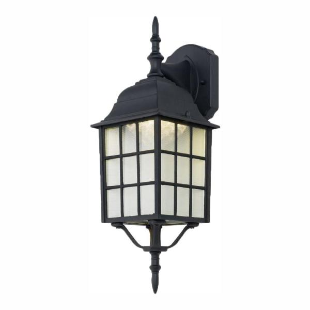 Led Wall Lantern Sconce 4420 1bk