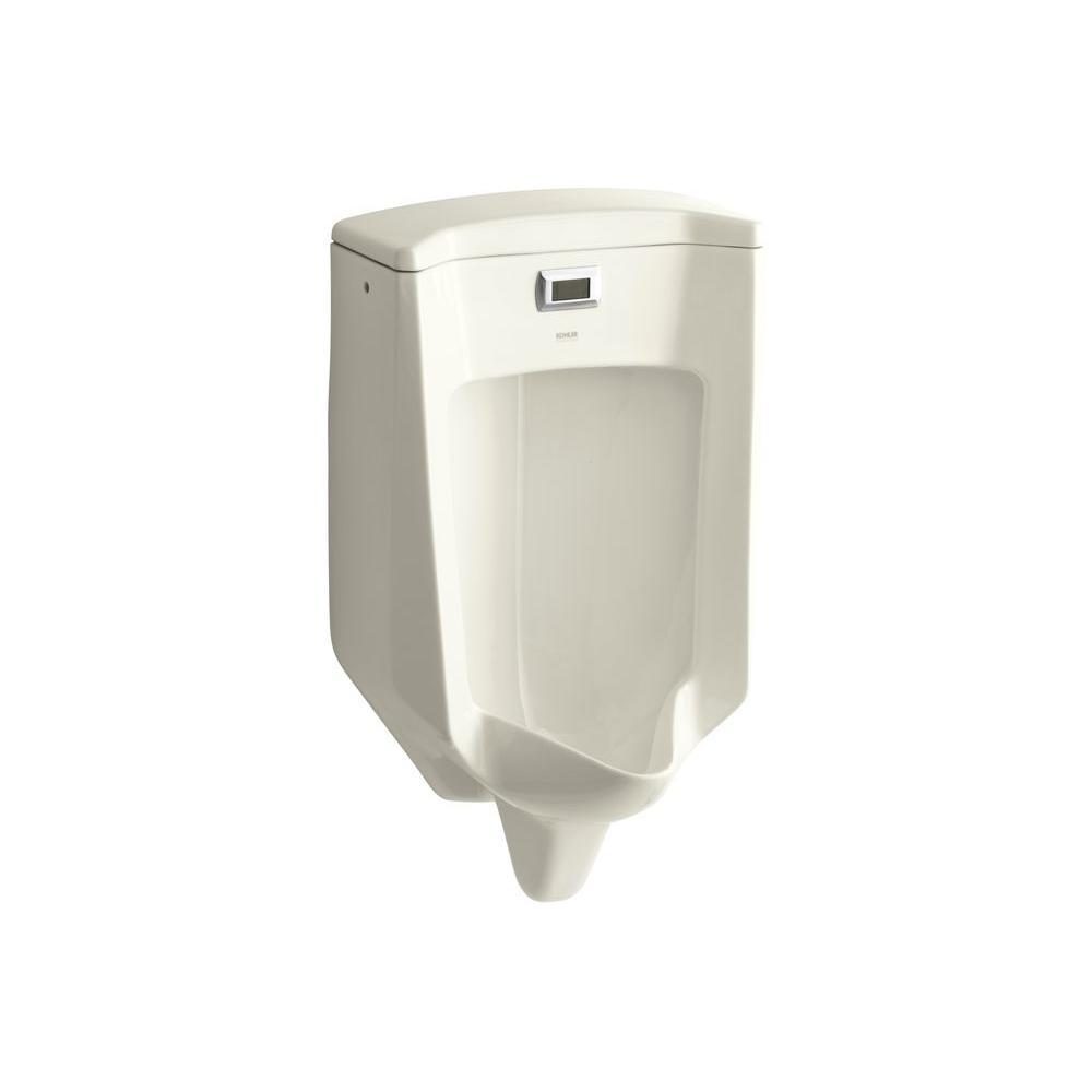 KOHLER Bardon 0.5 GPF Touchless Urinal in Biscuit