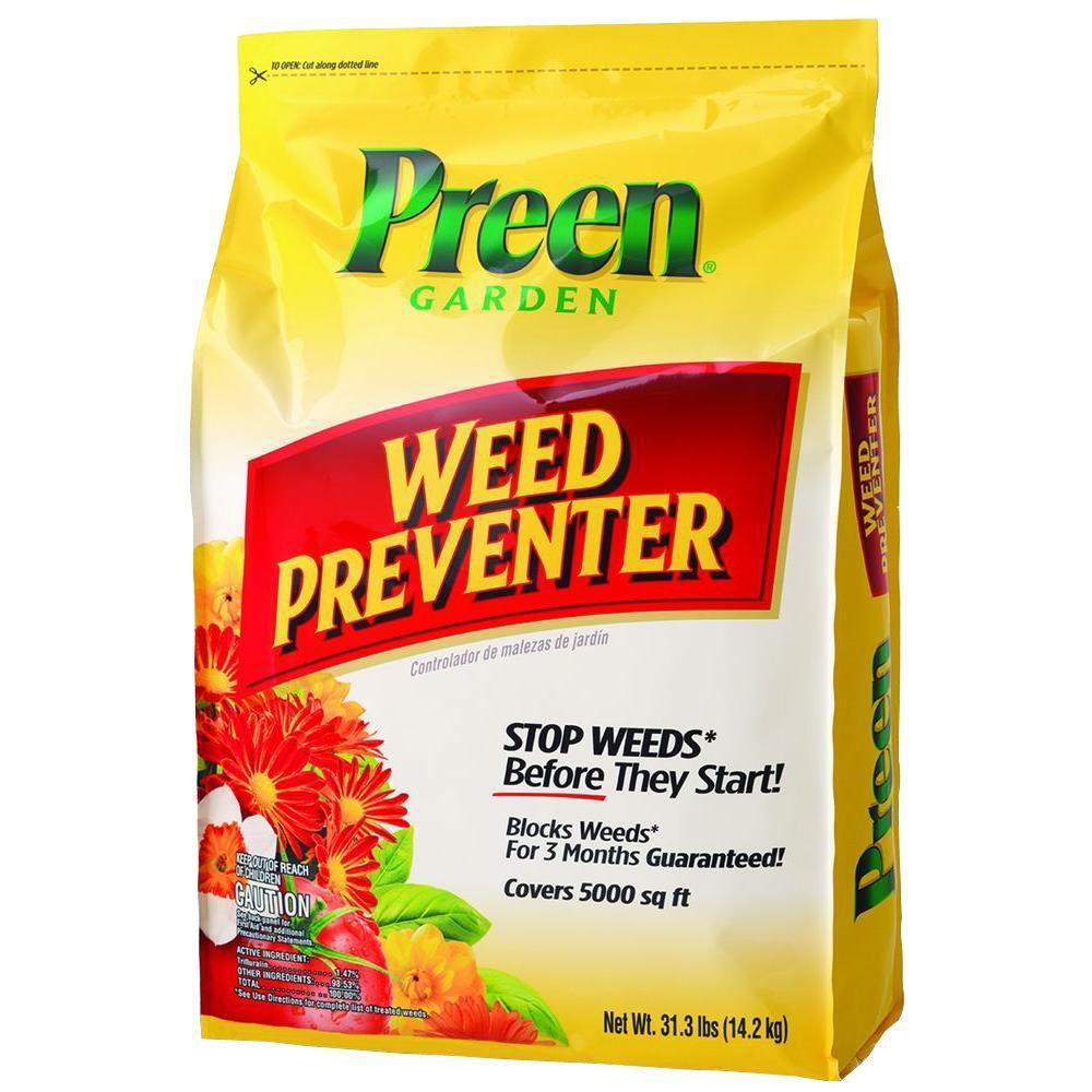 preen 31 3 lb garden weed preventer 2463802 the home depot. Black Bedroom Furniture Sets. Home Design Ideas