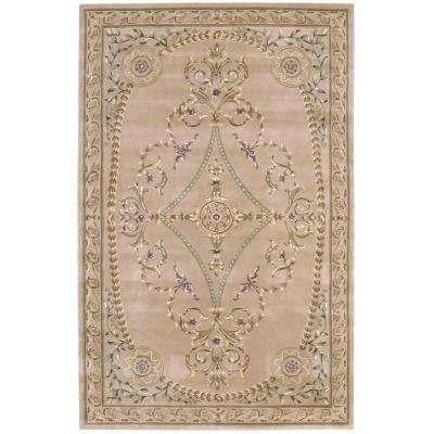 Versailles Palace Beige 5 ft. 3 in. x 8 ft. 3 in. Area Rug