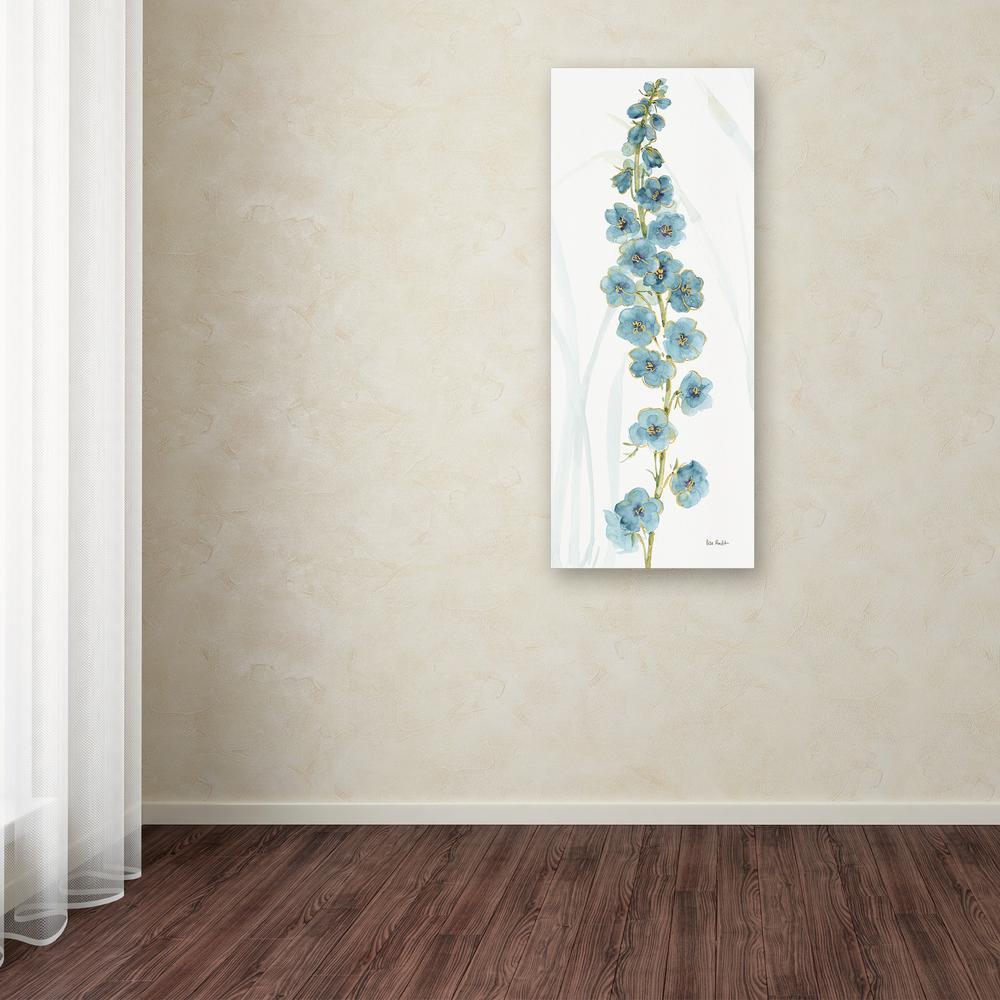 Trademark Fine Art 24 in. x 10 in. ''Rainbow Seeds Flowers