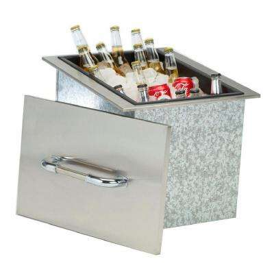 Ice Chest with Cover and Drain