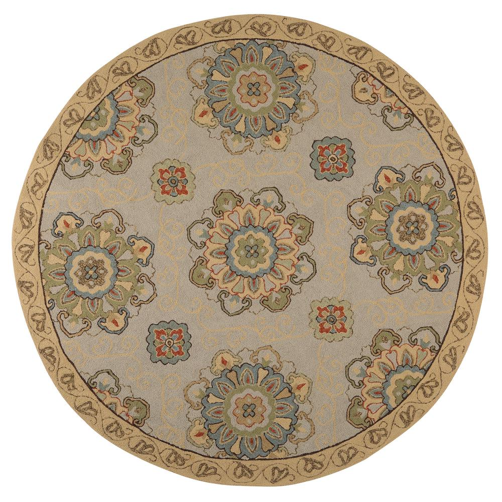 Indoor Outdoor Rugs Home Depot: Home Decorators Collection Bianca Beige 8 Ft. X 8 Ft