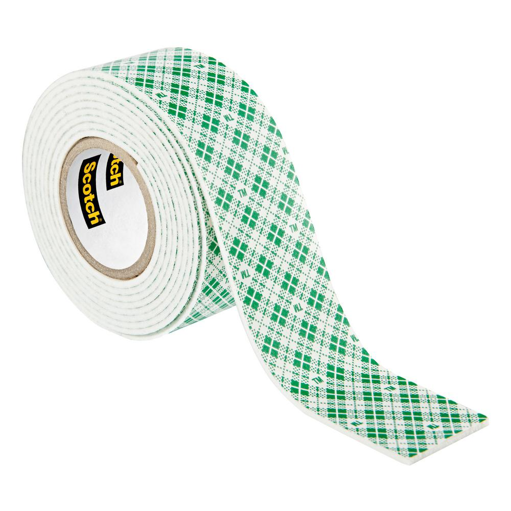 3m 1 in x 152 yds permanent double sided indoor mounting tape