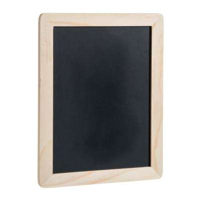 6 in. x 8 in. Unfinished Wood Frame with Chalkboard