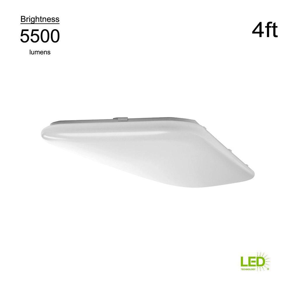 4 Foot Led Ceiling Light Fixture