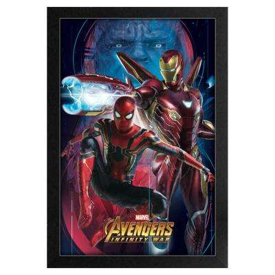 Avengers -Infinity War- Spider-Man and Iron Man 11x17 Framed Print