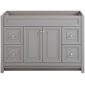 Brinkhill 48 in. W x 34 in. H x 22 in. D Bath Vanity Cabinet Only in Sterling Gray