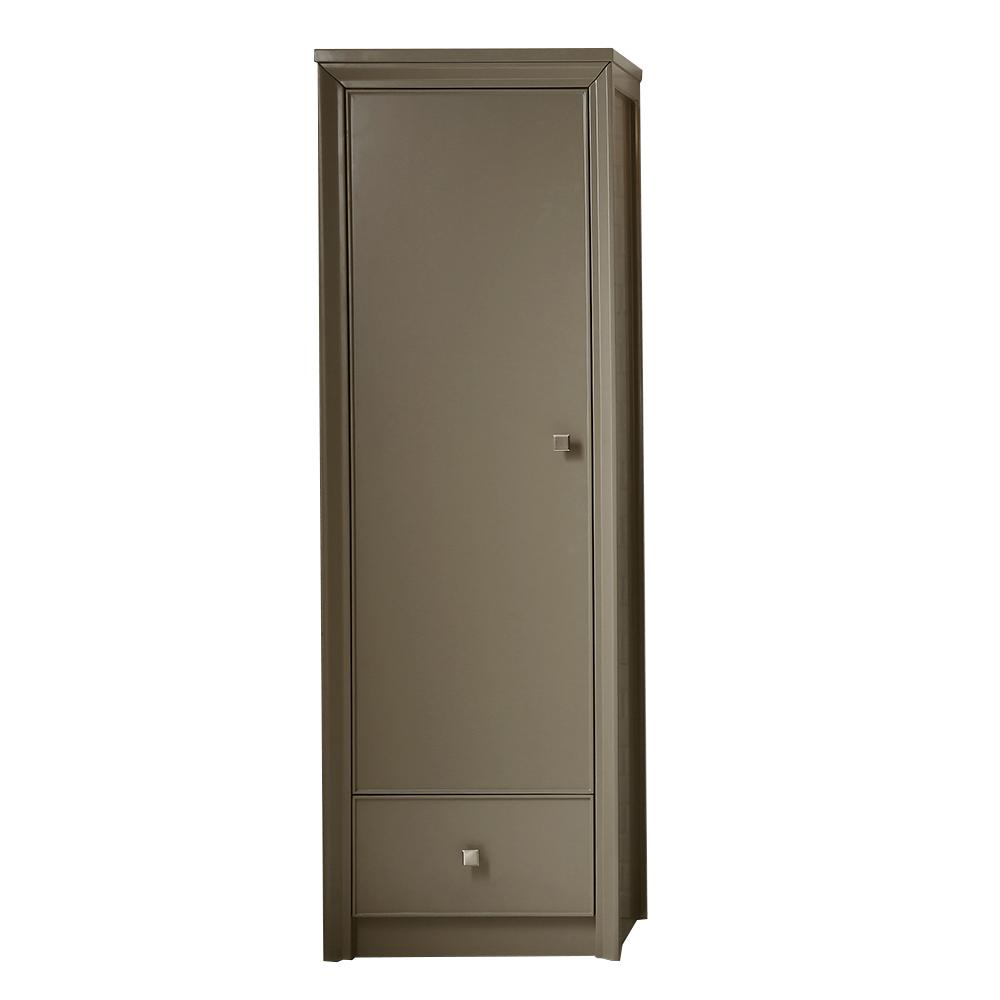 Parrish 22-1/2 in. W 1-Door and 1-Drawer Tall Side Unit in