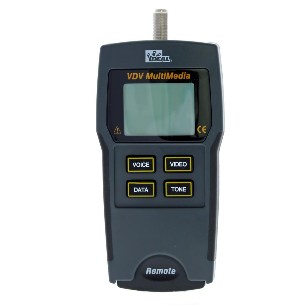 Ideal VDV Mulitmedia Cable Tester