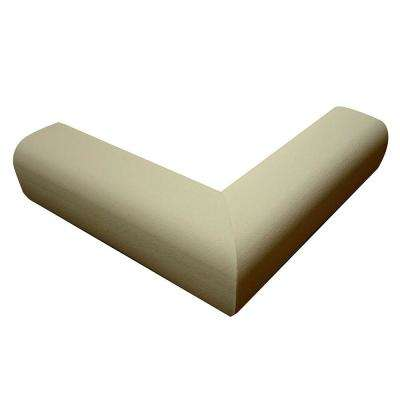 Pressure-Mounted Fireplace Cushion Taupe