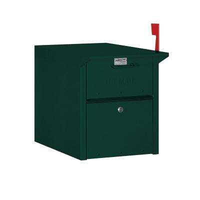 4300 Series Mail Chest in Green