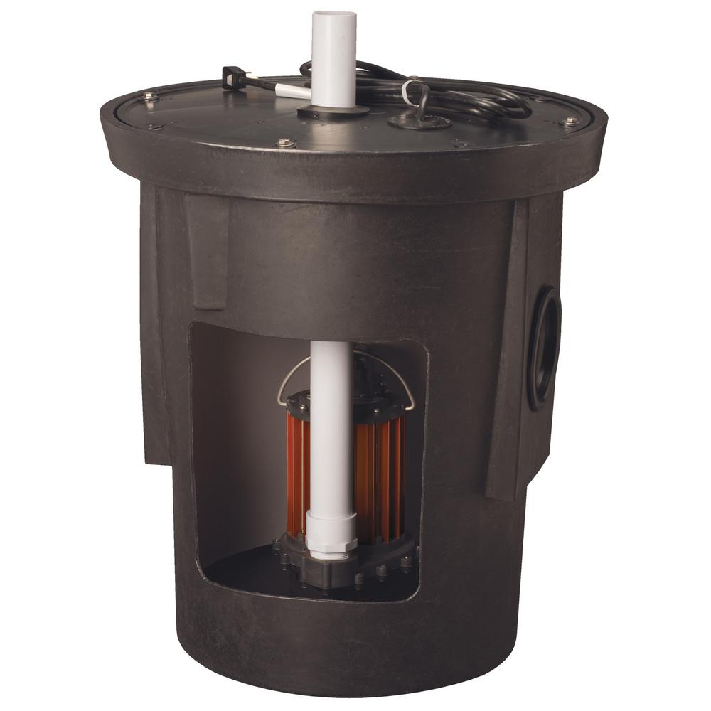Basement Watchdog 1/2 HP Submersible Sump Pump-BW1050