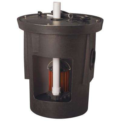 SPAC-Series 1/2 HP Submersible Assembled Sump Pump Package