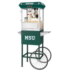 Click here to buy Great Northern Michigan State University Spartans 8 oz. Popcorn Machine & Cart by Great Northern.