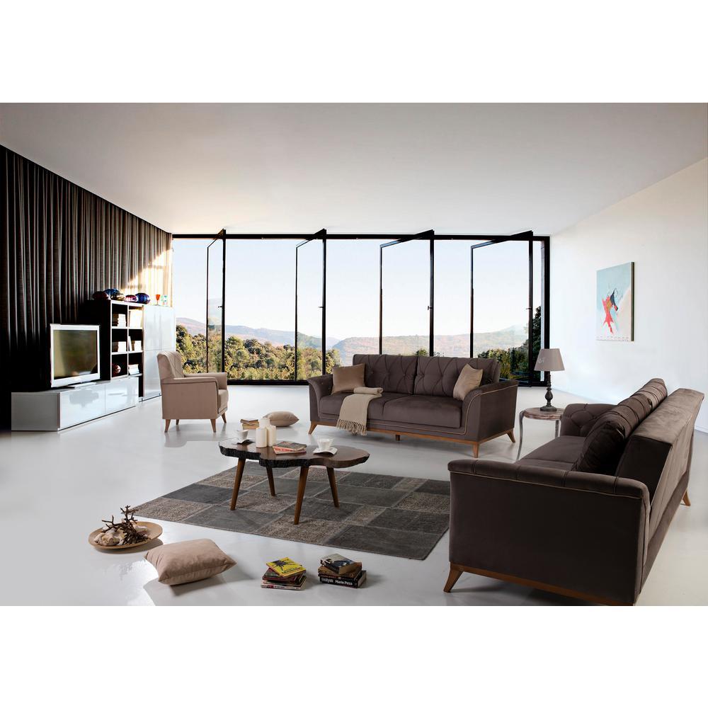 Terra Silvery Gray Sofa by