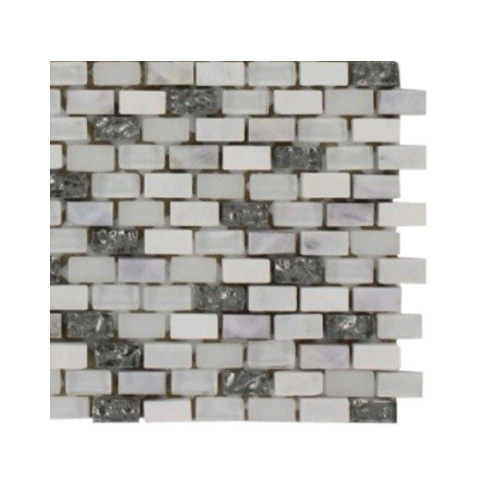 Splashback Tile Paradox Enigma Mixed Materials Floor and Wall Tile ...