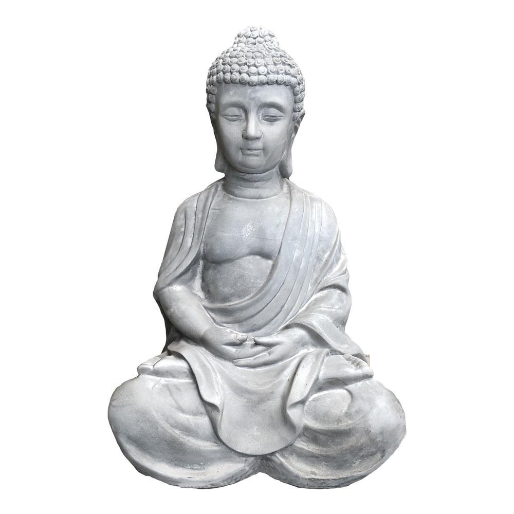 Lightweight Sitting Meditating Buddha Zen Indoor