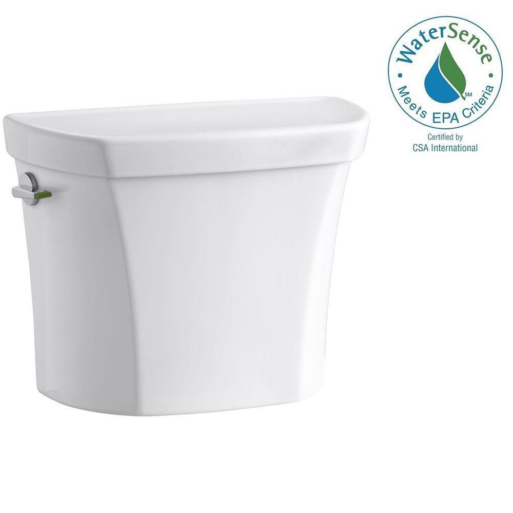 KOHLER Wellworth 1.1 or 1.6 GPF Dual Flush Toilet Tank Only in White