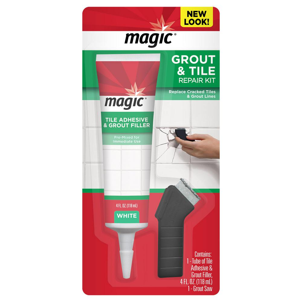 Grout Re Kit With Premixed And Saw