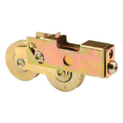 1-1/2 in. Stainless Steel Sliding Door Tandem Roller Assembly, 11/16 in. x 1 in. Housing