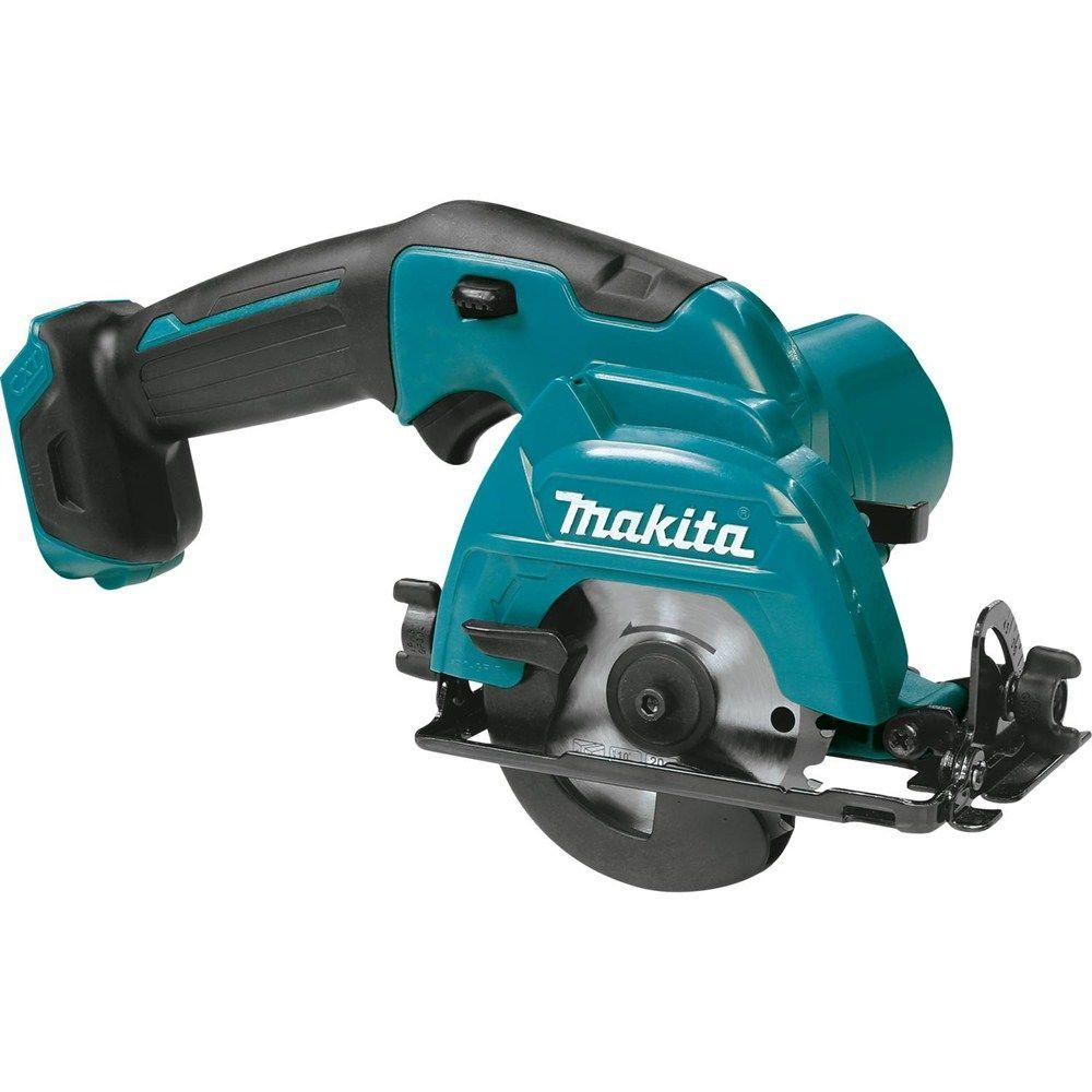 makita 12 volt max cxt lithium ion 3 3 8 in cordless circular saw tool only sh02z the home. Black Bedroom Furniture Sets. Home Design Ideas