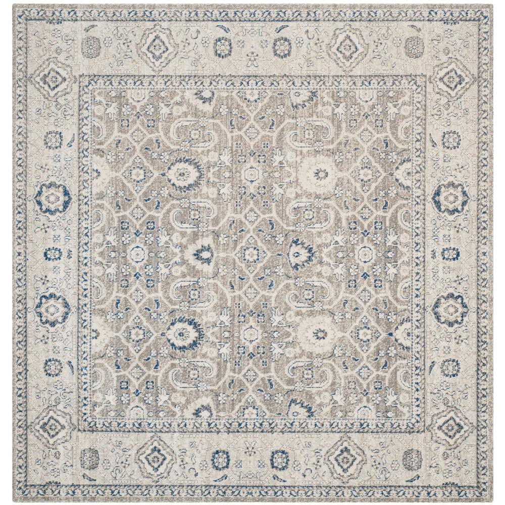Safavieh Patina Taupe Ivory 4 Ft X 4 Ft Square Area Rug