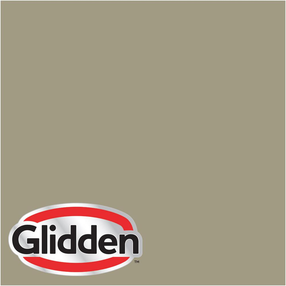Glidden Premium 8 Oz Hdgwn64 Khaki Green Flat Interior Paint Sample