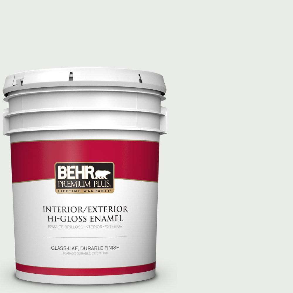 5 gal. #PPU25-12 Minimalistic Hi-Gloss Enamel Interior/Exterior Paint