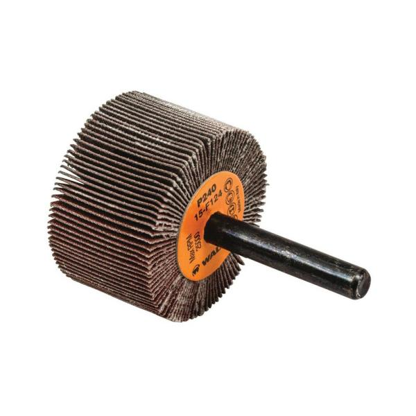 Abrasive Wheels and Discs Diameter Walter 15F104 COOLCUT Abrasive Flap Wheel - Pack of 10 40 Grit Surface Finishing Wheel with 1-1//2 in
