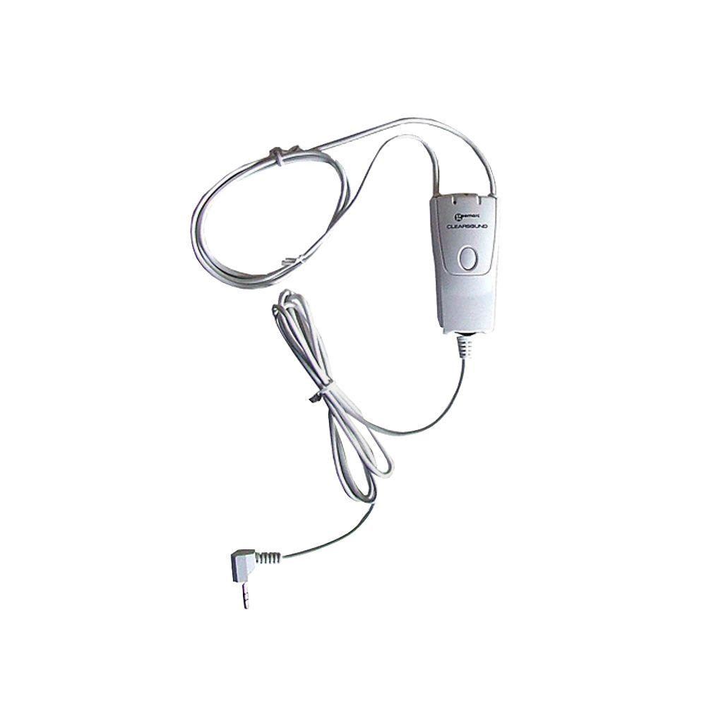 Geemarc Neck Loop for MP3/iPod The GM-iLOOP is an amplified Neckloop for music, games and DVD's. This product transforms the sound emitted by an audio device into an acoustic field compatible with hearing aids set to the T-position. This unit is helpful for users with T-coil equipped hearing aids.