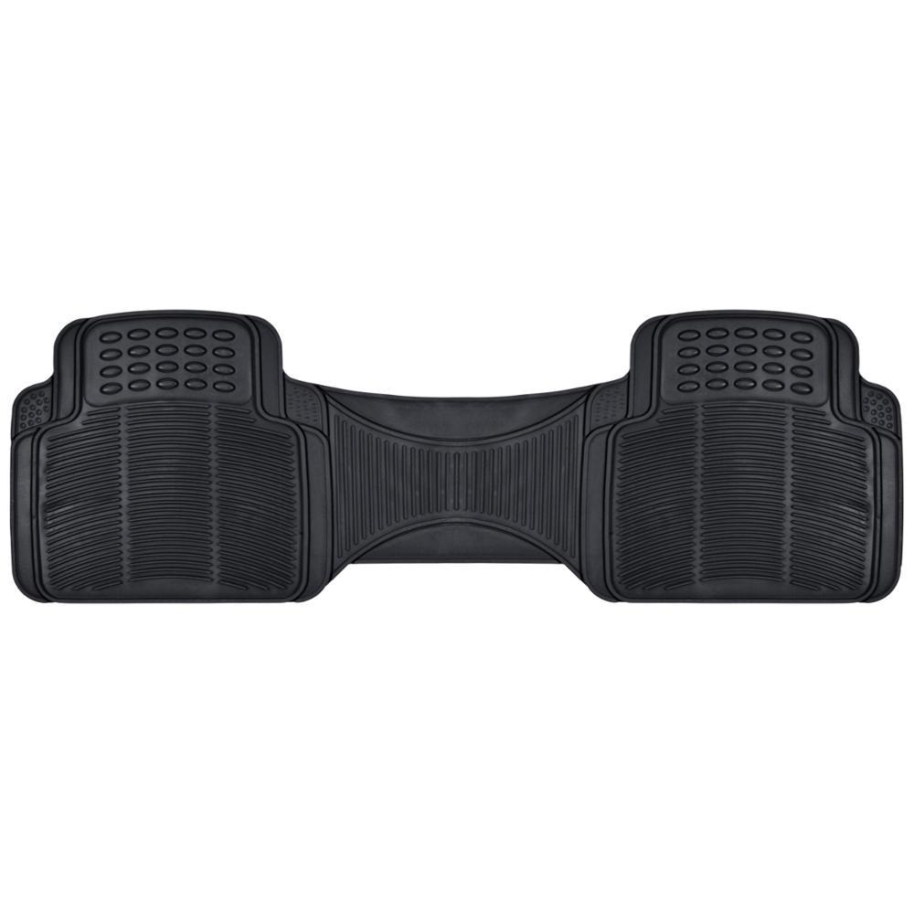 Classic Heavy Duty MT-781 Black Rear 1-Piece Floor Liner Rubber Mat