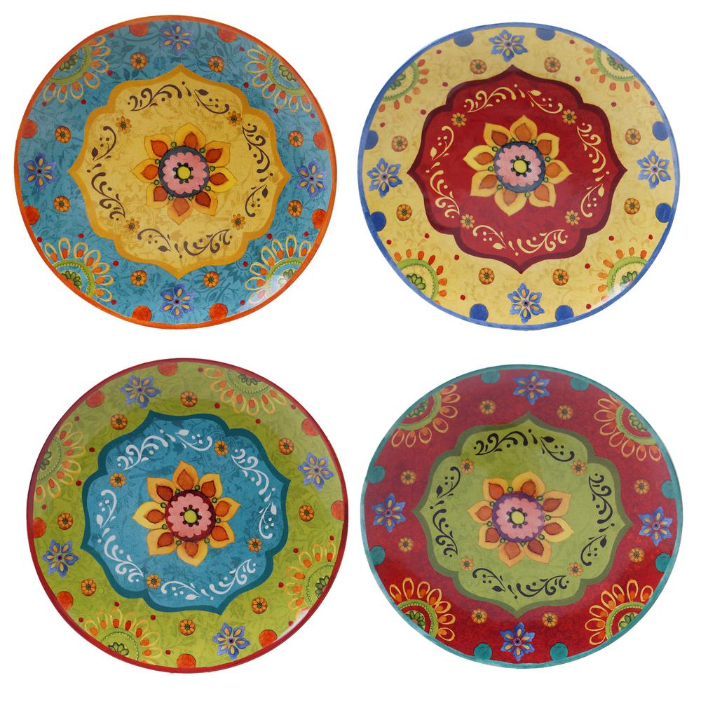 Certified International Tunisian Sunset Dinner Plate (Set of 4)  sc 1 st  Home Depot & Certified International Tunisian Sunset Dinner Plate (Set of 4 ...