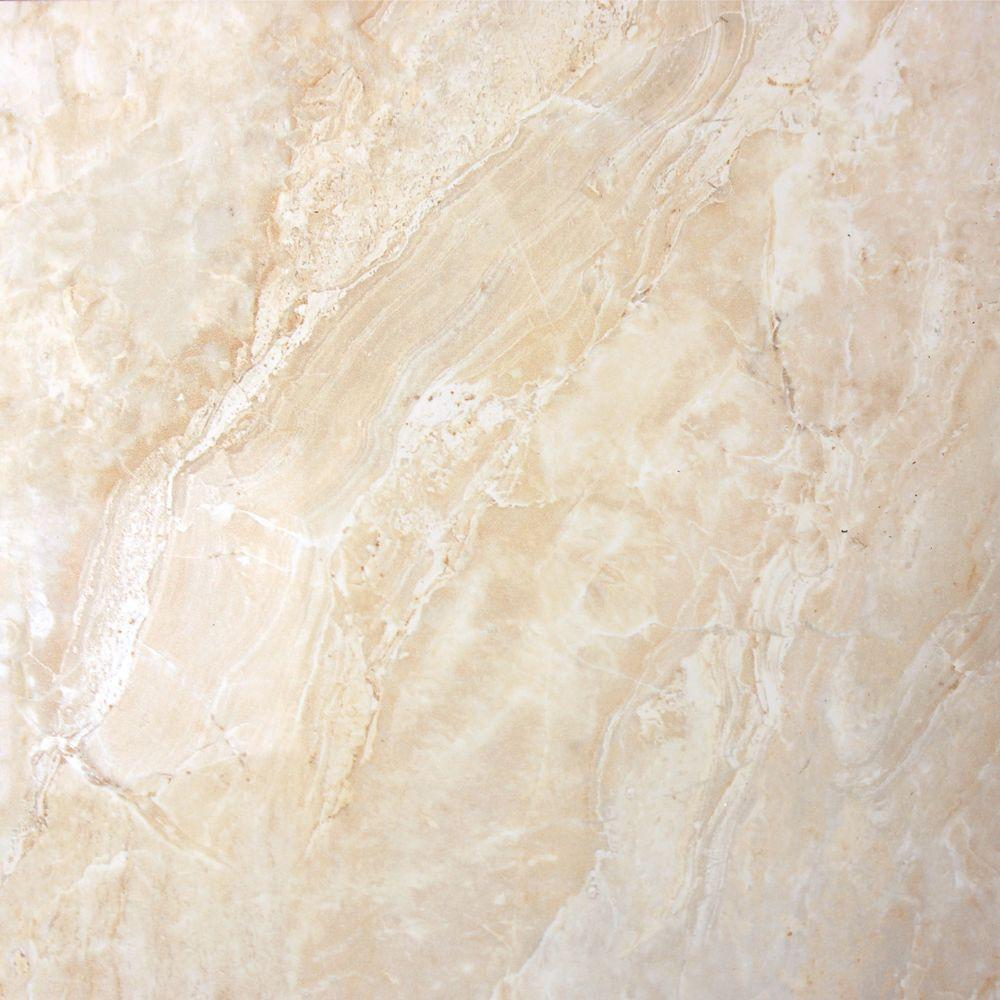 18x18 porcelain tile tile the home depot polished porcelain floor and wall tile dailygadgetfo Gallery