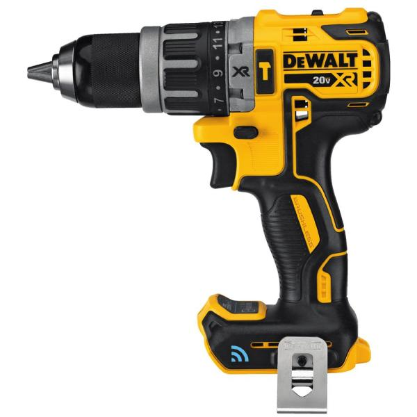 20-Volt Max Lithium-Ion Cordless Compact 1/2 in. Hammer Drill with Tool Connect (Tool Only)