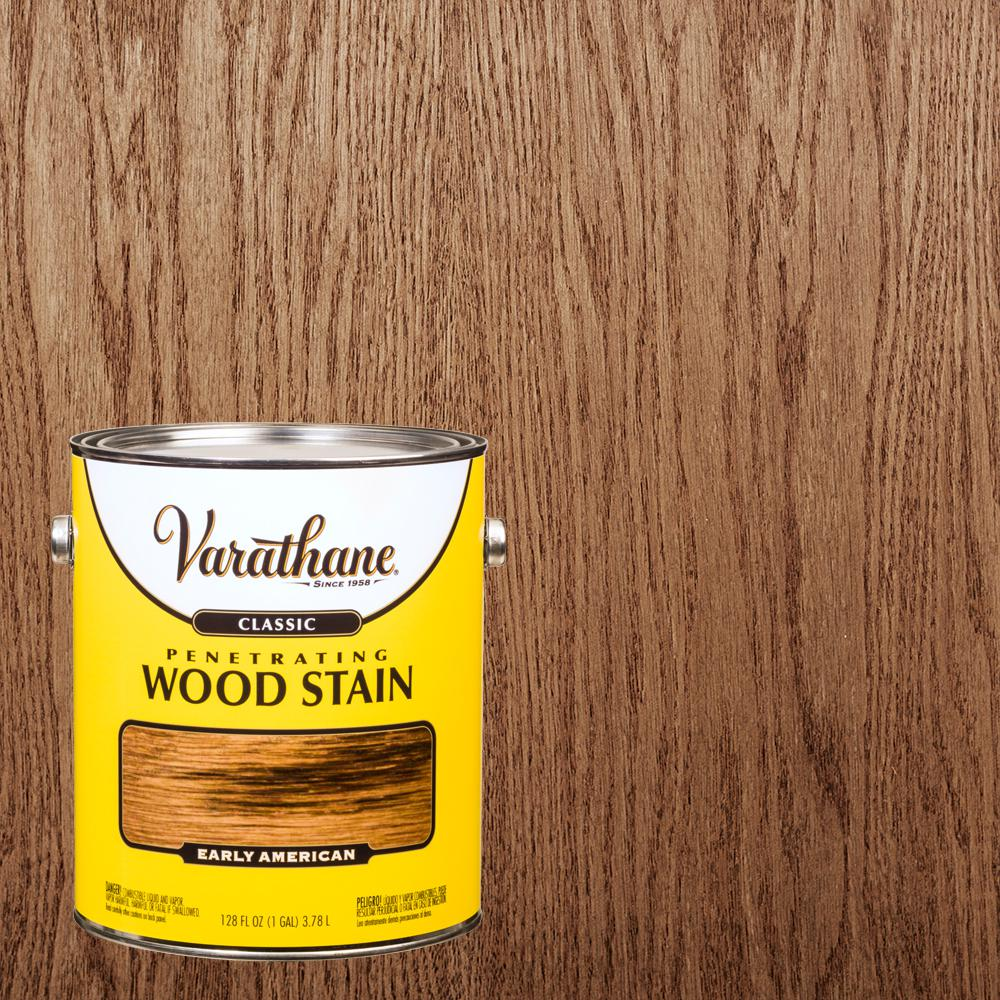 Varathane 1 gal. Early American Classic Wood Interior Stain