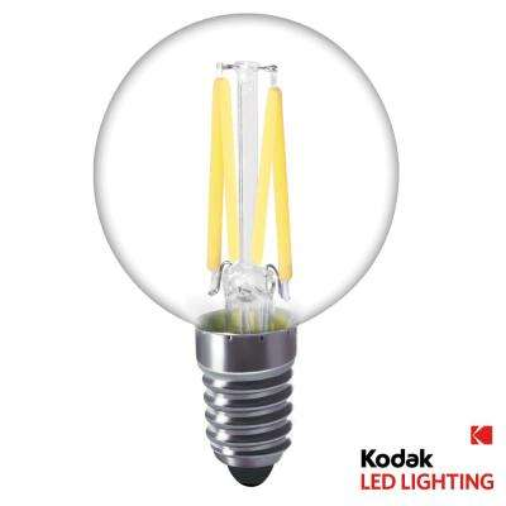 40W Equivalent Warm White G16.5 Globe LED Light Bulb