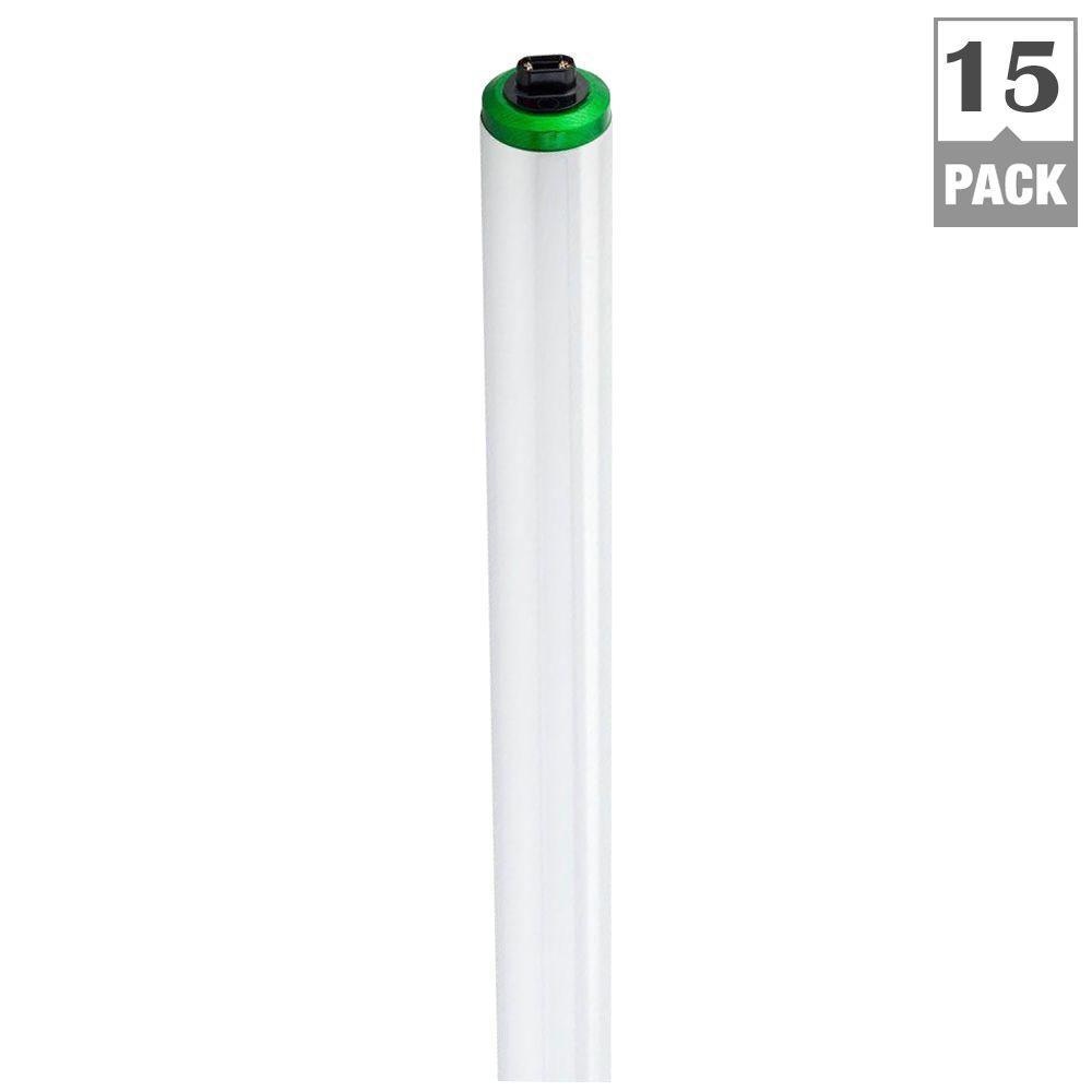 Philips 85-Watt 6 ft. T12 Daylight High Output ALTO Linear Fluorescent Light Bulb (15-Pack)