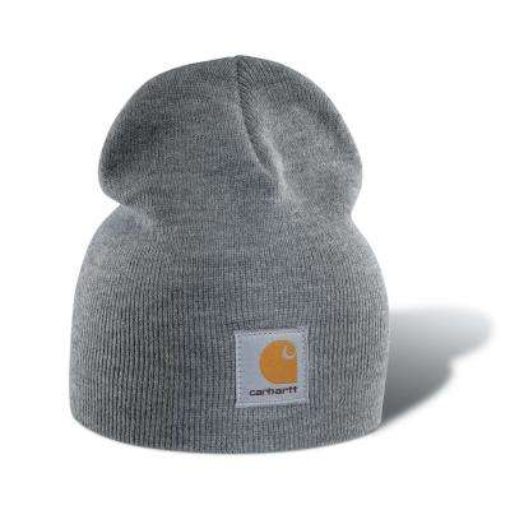 Men's OFA Heather Gray Acrylic Hat Headwear