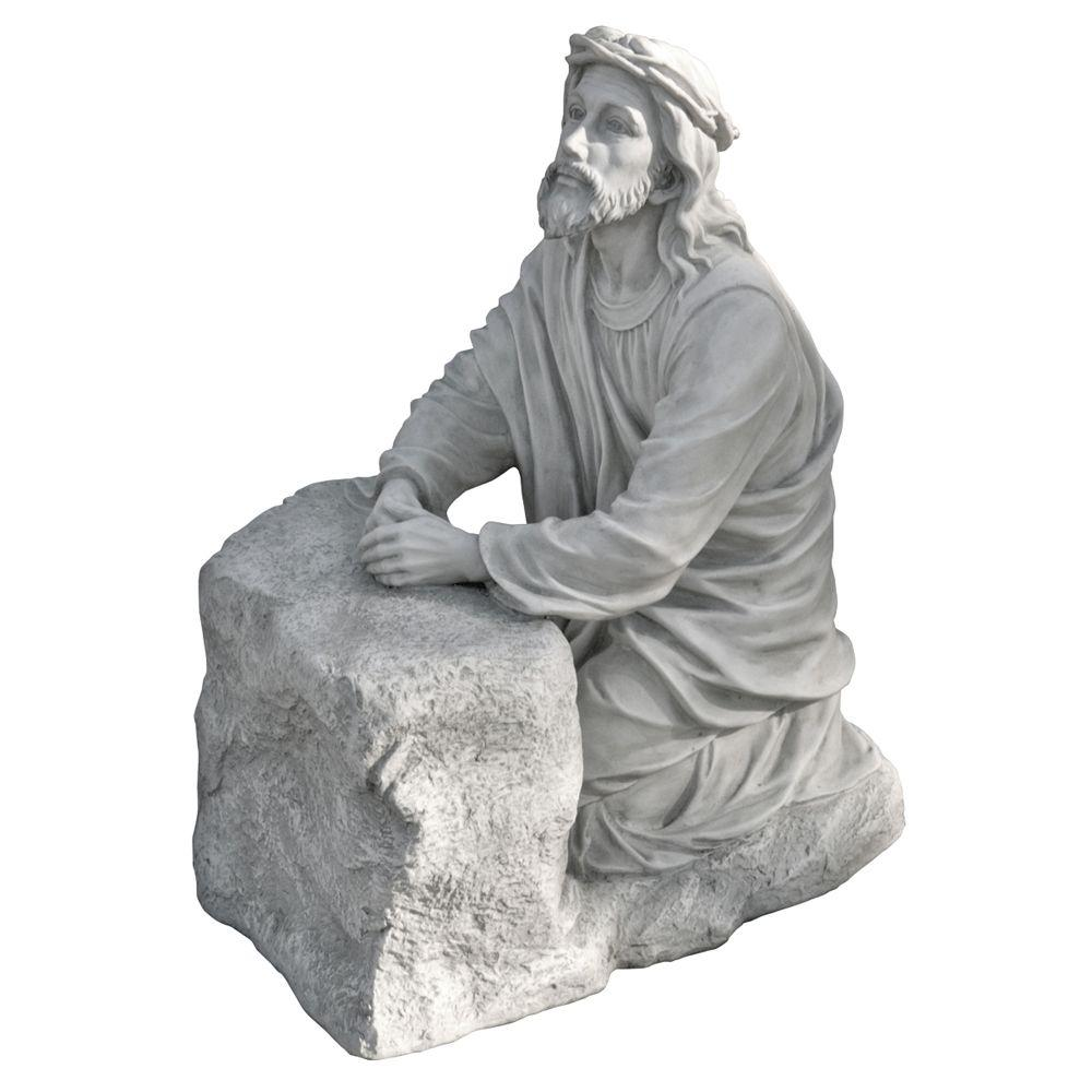 Design Toscano 23.5 in. Statue Jesus in the Garden of Gethsemane Sculpture-DISCONTINUED