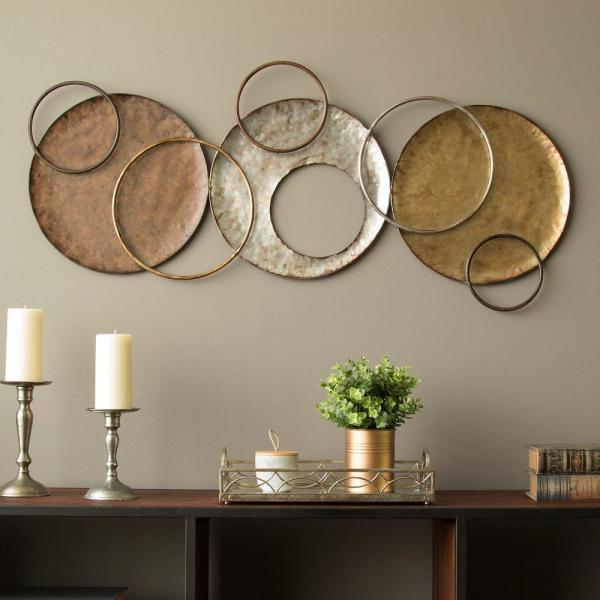 Stratton Home Decor Knoxville Metal Wall Decor S09558 - The Home Depot