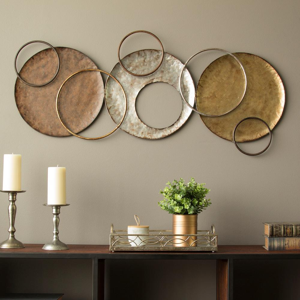 Stratton Home Decor Knoxville Metal Wall Decor-S09558 ...