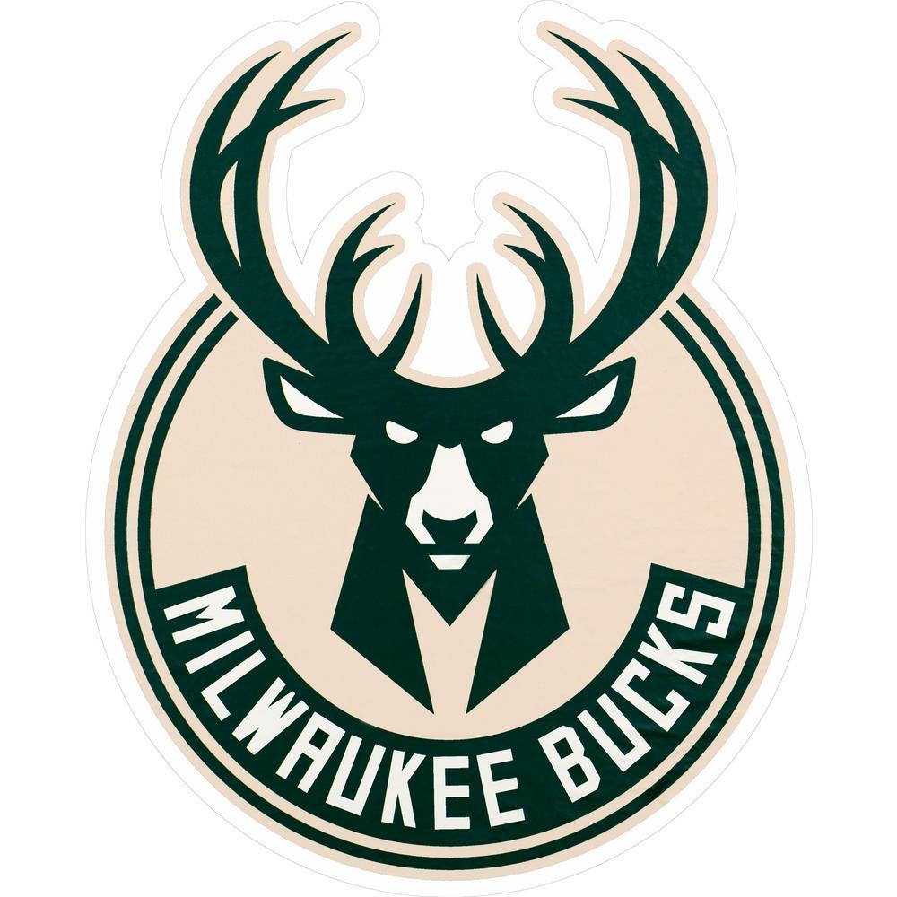 NBA Milwaukee Bucks Outdoor Logo Graphic- Small