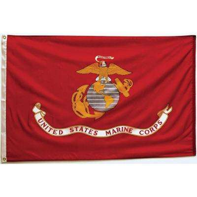 3 ft. x 5 ft. Marine Corps Flag